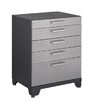 "NewAge Products Performance Plus Diamond Series 36.75"" H x 28"" W x 22"" D 5-Drawer Base Cabinet"