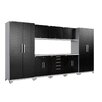 NewAge Products Performance Plus Diamond Series 7' H x 15' W x 2' D 9 Piece Cabinet Set