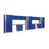 NewAge Products Performance Plus Series 7' H x 23' W x 2' D 14 Piece Cabinet Set