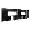 NewAge Products Performance Diamond Series 6' H x 19.5' W x 1.5' D 14 Piece Cabinet Set