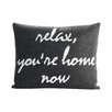 Alexandra Ferguson Relax, You're Home Now Decorative Pillow