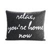 Alexandra Ferguson Relax, You're Home Now Decorative Pillow