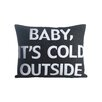 Alexandra Ferguson Baby, It's Cold Outside Lumbar Pillow