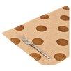 <strong>Ecoaccents</strong> Dot Burlap Placemat (Set of 6)