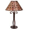 "<strong>Tribal 22.25"" H Table Lamp with Empire Shade</strong> by Jezebel Gallery"