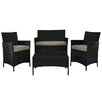 DHI Montecito 4 Piece Seating Group