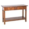 Ancient Mariner Mahogany Village Console Table