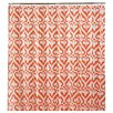 Jill Rosenwald Home Newport Gate Cotton Flamingo Shower Curtain