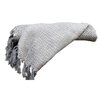 Colonial Textiles Cable Knit II Cotton Throw Blanket
