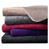 Madison Park Quilted Glimmersoft Plush Throw