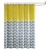 Madison Park Intelligent Design Nadia Microfiber Printed Shower Curtain
