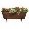 ACHLA Galvanized Tin Rectangular Flower Box Planter