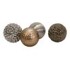 IMAX Decorative Ball Sculpture (Set of 4)