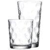 Home Essentials and Beyond 16 Piece Eclipse Glassware Set