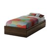 South Shore Sebastian Distressed Twin Mate's Bed Box with Storage