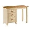 AlpenHome Solst Painted Single Pedestal Dressing Table