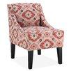 DHI Prescott Slipper Chair in Crimson