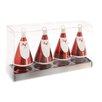 October Hill Santa Ornament & Place Card Holder (Set of 4)