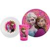 Zak! Frozen 3 Piece Dinnerware Set