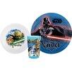 Zak! Star Wars 3 Piece Dinnerware Set