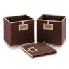 Furinno Laci Multipurpose Foldable Soft Storage Bins (Set of 3)