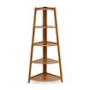 Furinno Yaotai 5-Tier Corner Ladder Shelf