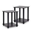 Furinno Simplistic 2 Piece End Table