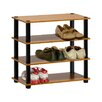 Furinno Turn S Tube 4 Tier Shoe Rack