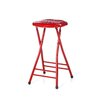 "Trademark Global Coca Cola Dynamic Ribbon Device 25"" Folding Bar Stool"
