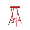 "Trademark Global Coca Cola Delicious Refreshing 24"" Folding Bar Stool"