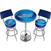 Trademark Global Bud Light 3 Piece Pub Table Set