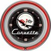 "<strong>14"" Corvette C1 Wall Clock</strong> by Trademark Global"