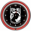 """<strong>POW 14"""" Double Ring Wall Clock</strong> by Trademark Global"""