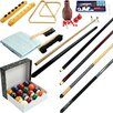 Trademark Global Billiards 32 Piece Accessories Kit For Pool Table