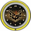 "<strong>Pontiac 14.5"" Firebird Double Ring Neon Wall Clock</strong> by Trademark Global"