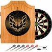"Trademark Global 24.75"" Pontiac Firebird Wood Dart Cabinet Set"