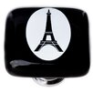 "Sietto New Vintage 1.25"" Eiffel Tower Cameo Square Knob"