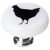 """<strong>New Vintage 1.25"""" Chicken Round Knob</strong> by Sietto"""