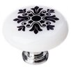 """<strong>New Vintage 1.25"""" Snowflake Round Knob</strong> by Sietto"""
