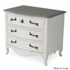 Sarreid Ltd Louis XV 3 Drawer Lingerie Chest