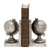 <strong>Woodland Imports</strong> Exclusive Globe Classic Book Ends (Set of 2)