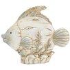Woodland Imports Polystone Fish Statue