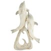 <strong>Polystone Dolphin Statue</strong> by Woodland Imports