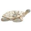 Woodland Imports Polystone Turtle Statue