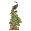 <strong>Woodland Imports</strong> Peacock Table Décor Statue