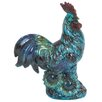 Woodland Imports Ceramic Rooster Statue