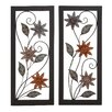 <strong>Woodland Imports</strong> 2 Piece Assorted Wall Décor Set