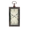 Woodland Imports Mesmerized chic Styled Wood Metal Wall Clock