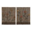 Woodland Imports Lovely and Attractive 2 Piece Wall Décor Set