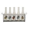 <strong>Woodland Imports</strong> Stylish and Unique Patterned Glass Bottle Holder